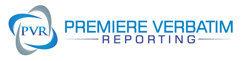 Premiere Verbatim Reporting Logo